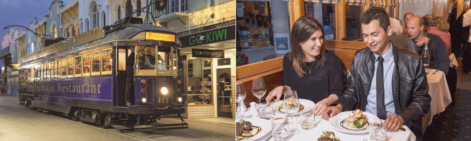 tram Restaurant Dinner